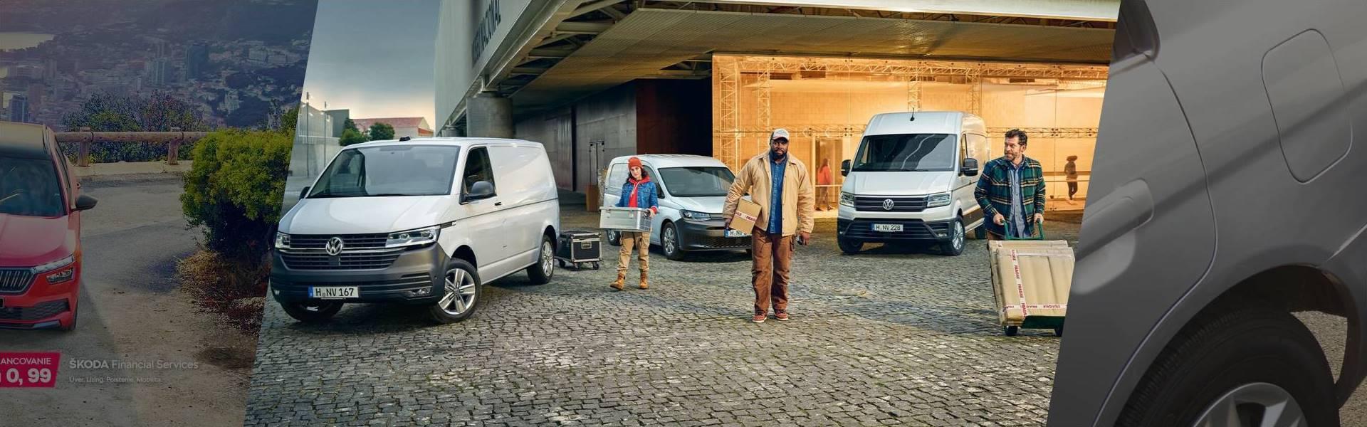 Akčné modely VW úžitkové vozidlá